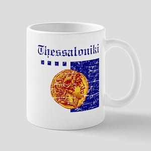 Thessaloniki City Flag Mug