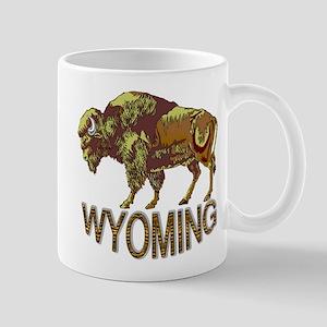 Wyoming state crest e3 Mug