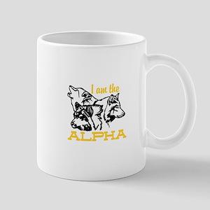 I am the Alpha Mugs