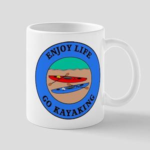 Enjoy Life Go Kayaking Mug