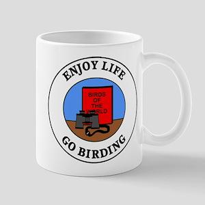 Enjoy Life Go Birding Mug