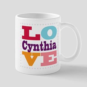 I Love Cynthia Mug