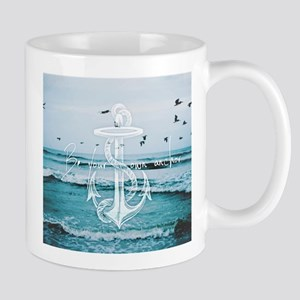be your own anchor Mugs