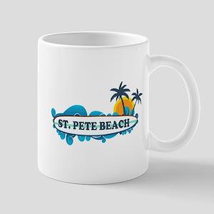 St. Pete Beach - Surf Design. Mug