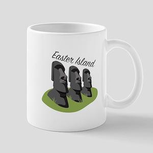 Easter Island Mugs