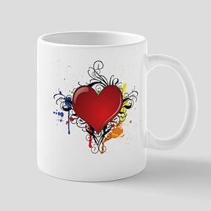 Love Color Splash Mug