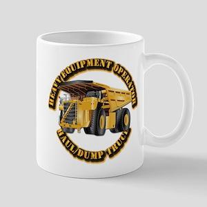 Heavy Equipment Operator - Dump Trk Mug