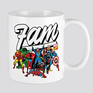 Marvel Comics Fam 11 oz Ceramic Mug
