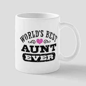 World's Best Aunt Ever Mug