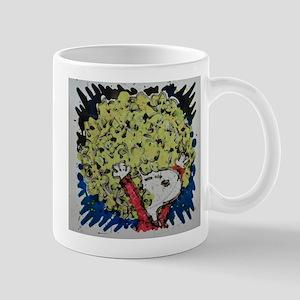 SHAGGY AFRO DOG HAIR Mugs