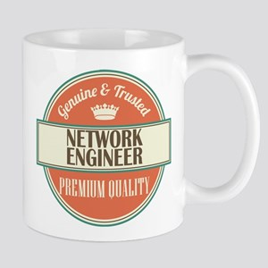 network engineer vintage logo Mug