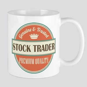 stock trader vintage logo Mug