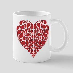 Real Heart 11 oz Ceramic Mug