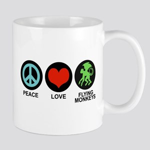 Peace Love Flying Monkeys Mug