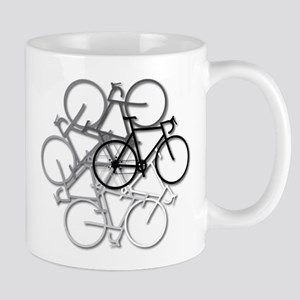 Bicycle circle Mugs