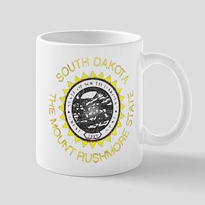 South Dakota Vintage State Flag Mug