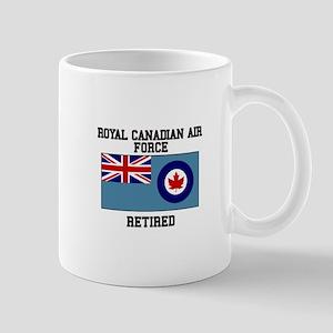 Royal Canadian Air Force Retired Mugs