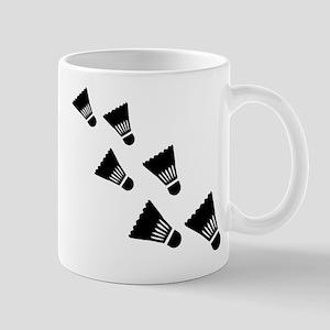 Badminton Shuttlecocks Mug