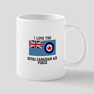 I Love The Royal Canadian Air Force Mugs