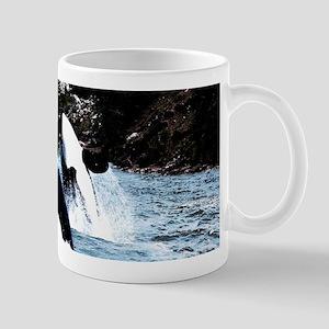 Leaping Killer Whales Mugs