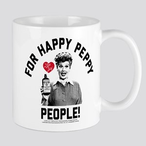 Lucy Happy Peppy People 11 oz Ceramic Mug
