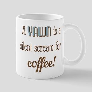 Silent Scream for Coffee Mugs