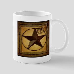 barn wood texas star western fashion Mugs