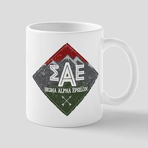 Sigma Alpha Epsilon Mountains 11 oz Ceramic Mug