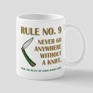 RULE NO. 9 Mugs