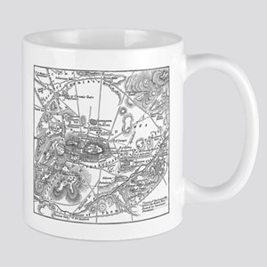 Ancient Athens Map Mug