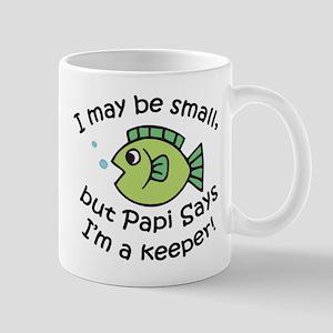 Papi Says I'm a Keeper Mug
