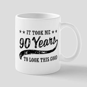 Funny 90th Birthday Mug