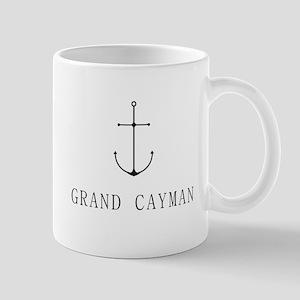 Grand Cayman Sailing Anchor Mugs
