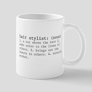Hair Stylist Definition Mug Mugs