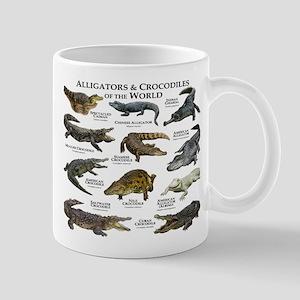 Alligator & Crocodiles of the World Mug