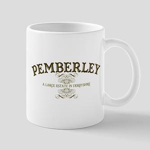 Pemberley A Large Estate In Derbyshire Mug