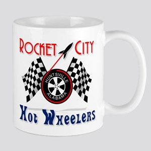 Rocket City Hot Wheelers Mug