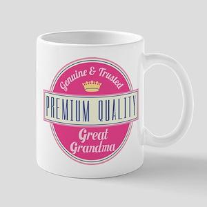 Premium Quality Great Grandma Mug
