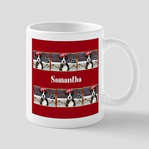 Christmas Boxer Dog Mugs