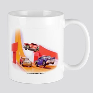 Toy Cars In Action Mug Mugs