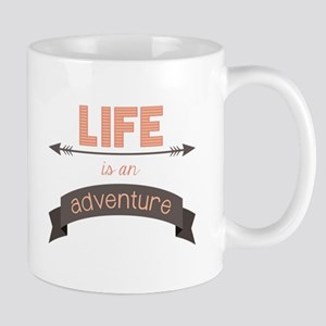 Life Is An Adventure Mugs
