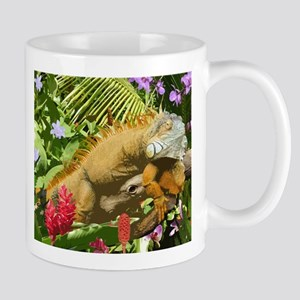 Rainforest Iguana Mugs