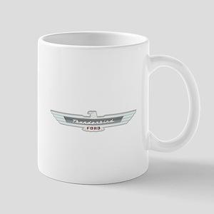 Ford Thunderbird Emblem Chrome Mug