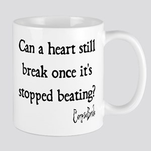 Can a heart still break once its stopped beating?
