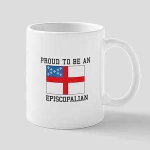Proud be an Episcopal Flag Mugs