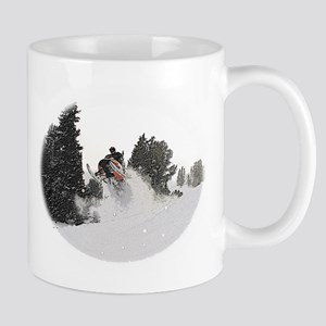Flying Through Snow Mug