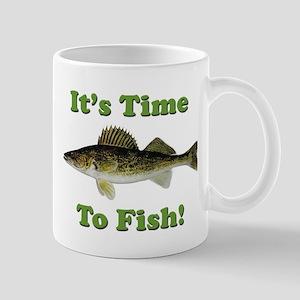 "Genuine Walleye ""It's Time to Fish"" Mug"