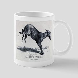 Harrison Weir - The Mule - Aesop - 1867 11 oz Cera
