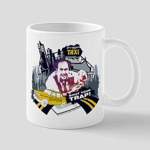 Taxi Shut Your Trap Mug