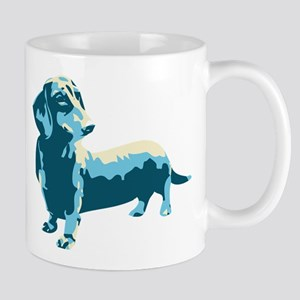 Dachshund Pop Art dog Mug